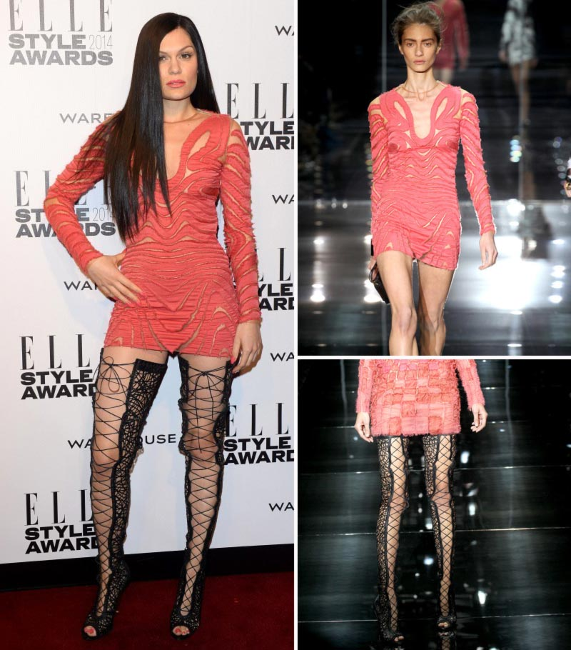 Jessie J Double Fashion Disaster: Elle Style Awards, BRIT Awards