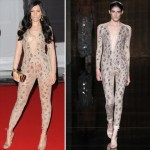 Jessie J fashion disaster Julien MacDonald catsuit