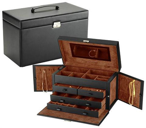 Jewelry boxes elegant