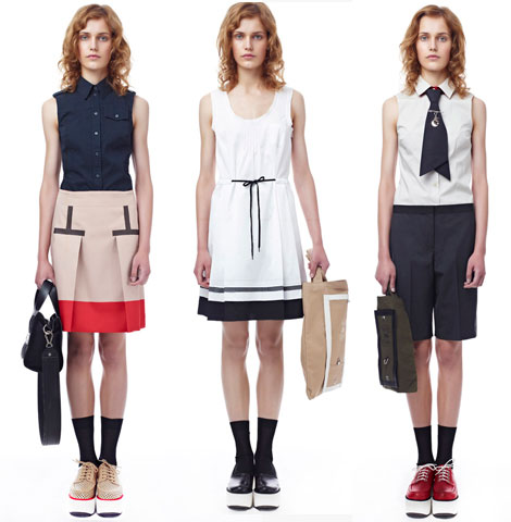 Jil Sander Navy Spring Summer 2012 collection