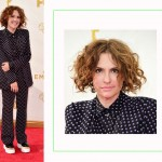 JIll Solloway 2015 Emmy Awards Red Carpet hairdo