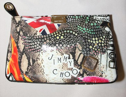 Jimmy Choo has formed an artistic allegiance with Elton John Foundation...