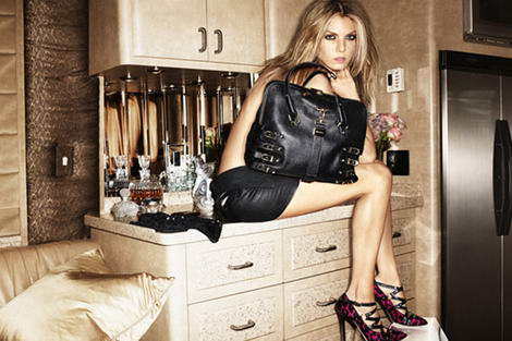 Jimmy Choo Fall 2009 ad campaign Angela Lindvall