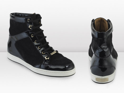 Jimmy Choo Trainers 2010 Collection black