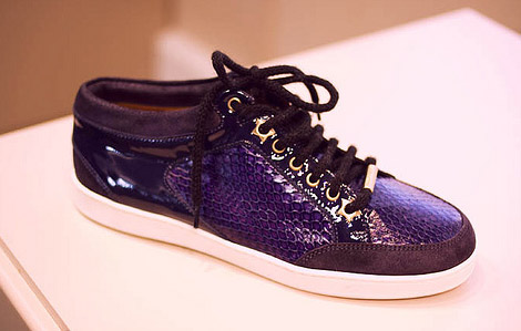 Jimmy Choo Trainers 2010 Collection Purple