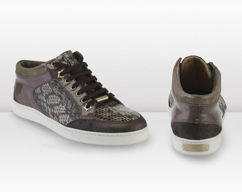 Jimmy Choo Trainers 2010 Collection taupe