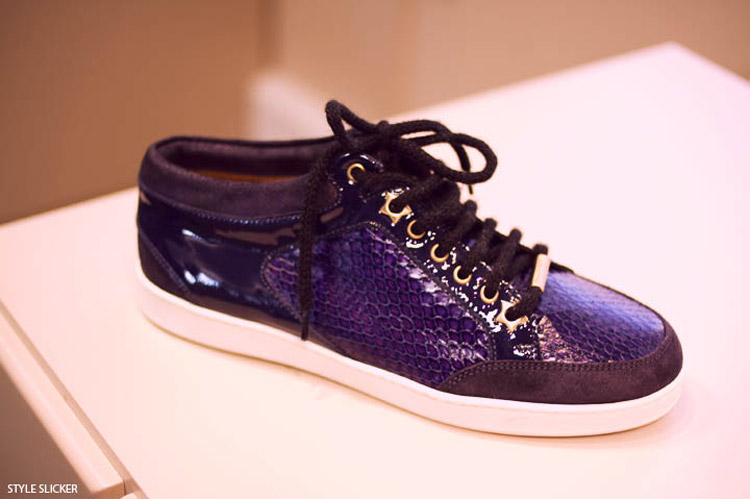 Jimmy Choo trainers collection Purple 1