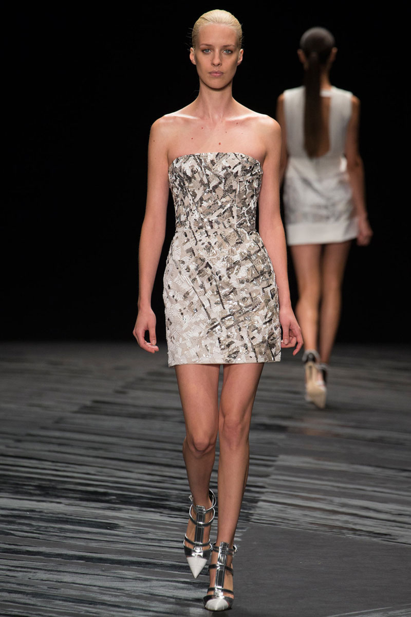 JMendel dress Spring Summer 2015 collection