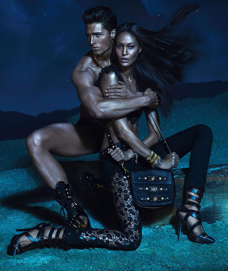 Joan Smalls Versace Spring 2013 ad campaign