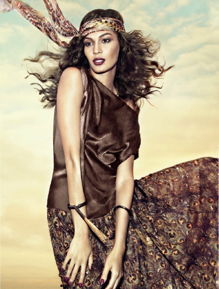 Joan Smalls Vogue Brazil January 2013 pictorial