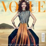 Joan Smalls Vogue Brazil January 2013 subscr cover
