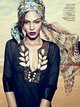 Joan Smalls Vogue Brazil