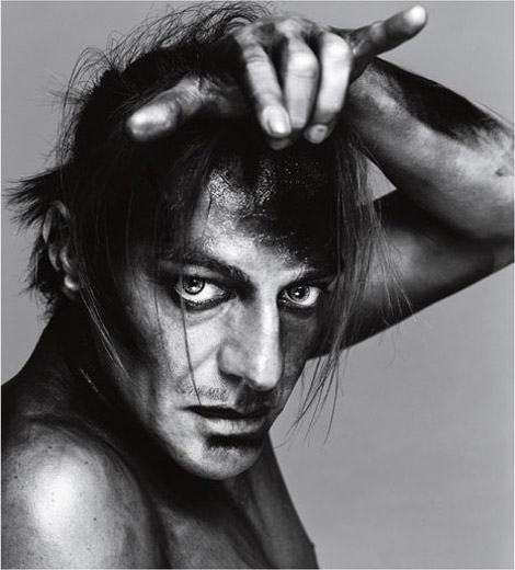 John Galliano by Richard Avedon 2003