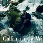 John Galliano photographed by Annie Leibovitz for Vanity Fair