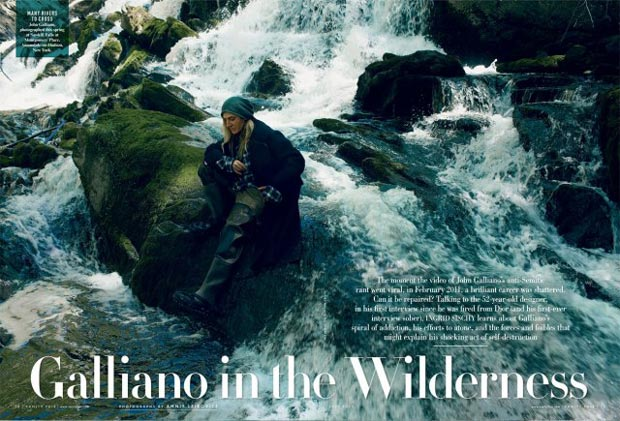 Rehab Is The New Black: Galliano Gets Another Chance?