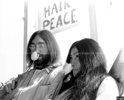 john lennon and yoko ono the lost pictures stylefrizz