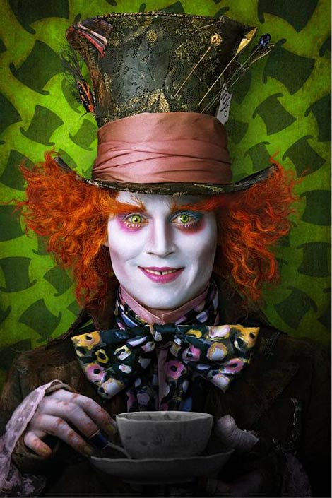 Johnny Depp Mad Hatter Burton Wonderland. The only downside is the official