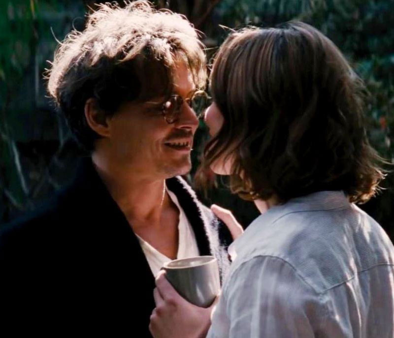 Johnny Depp Rebecca Hall Transcendence Love Story