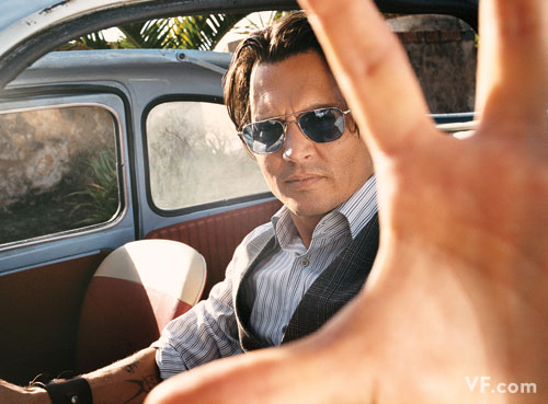Johnny Depp Does Vanity Fair July 2009