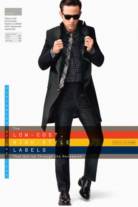 Joseph Gordon Levitt GQ December 2009