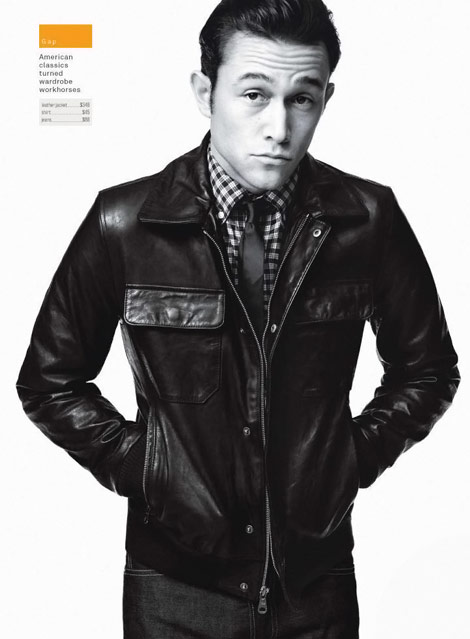 Joseph Gordon Levitt GQ Magazine December 09