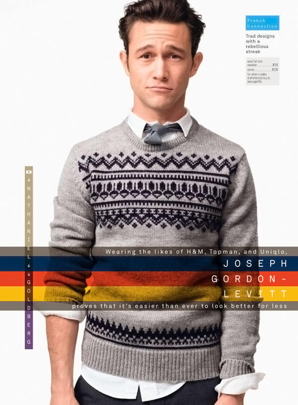 Joseph Gordon Levitt GQ Magazine December 2009 1
