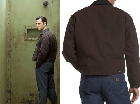 Joseph Gordon Levitt Looper jacket Carhartt Detroit