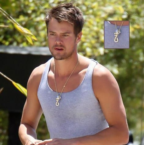 Josh Duhamel Hand Made Necklace
