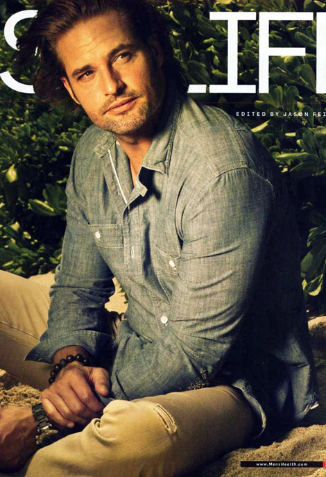 Josh Holloway, The Lost Sawyer's Men's Health June 2010