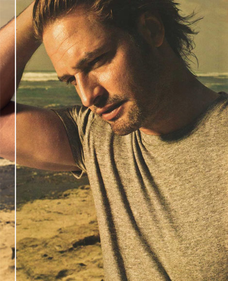 Josh Holloway Lost Sawyer Men s Health June 2010