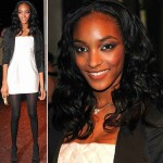 Jourdan Dunn best model of the year British Fashion Awards 2008