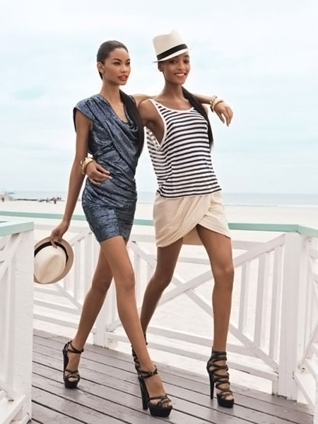 Jourdan Dunn Chanel Iman Teen Vogue 1