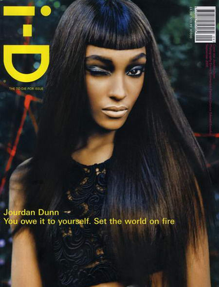 I-D Jourdan Dunn In September 2008