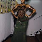 Jourdan Dunn Pregnant JP Gaultier