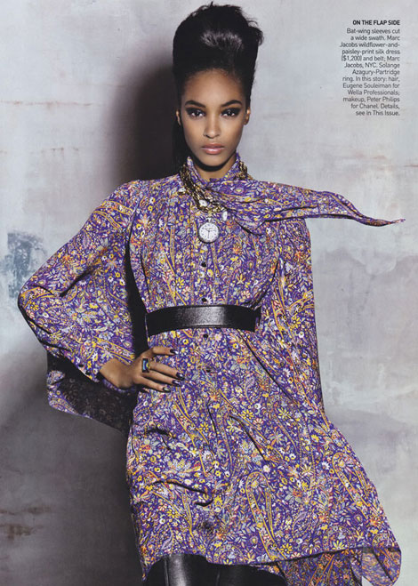 Jourdan Dunn Vogue October 2009