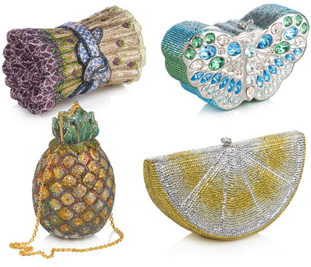Judith Leiber Fruit Shaped Evening Handbags