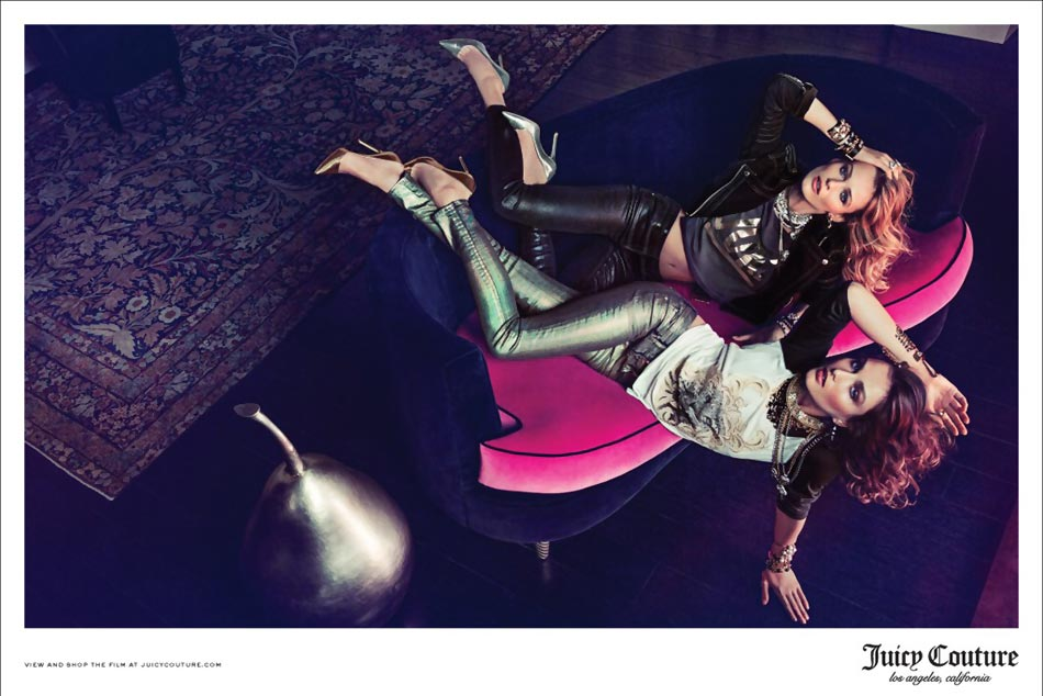 Juicy Couture New Fashionable Ad Campaign By Inez & Vinoodh