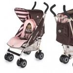 Juicy Couture MacLaren stroller