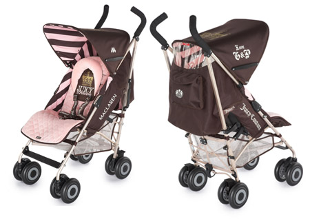 Juicy Couture MacLaren Stroller For The Juicy Baby Princess