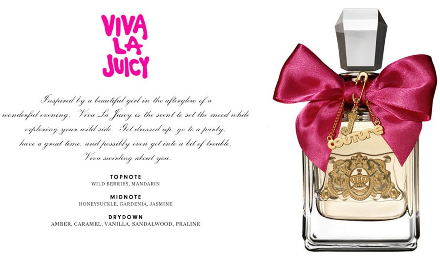 Juicy Couture Viva la Juicy perfume details