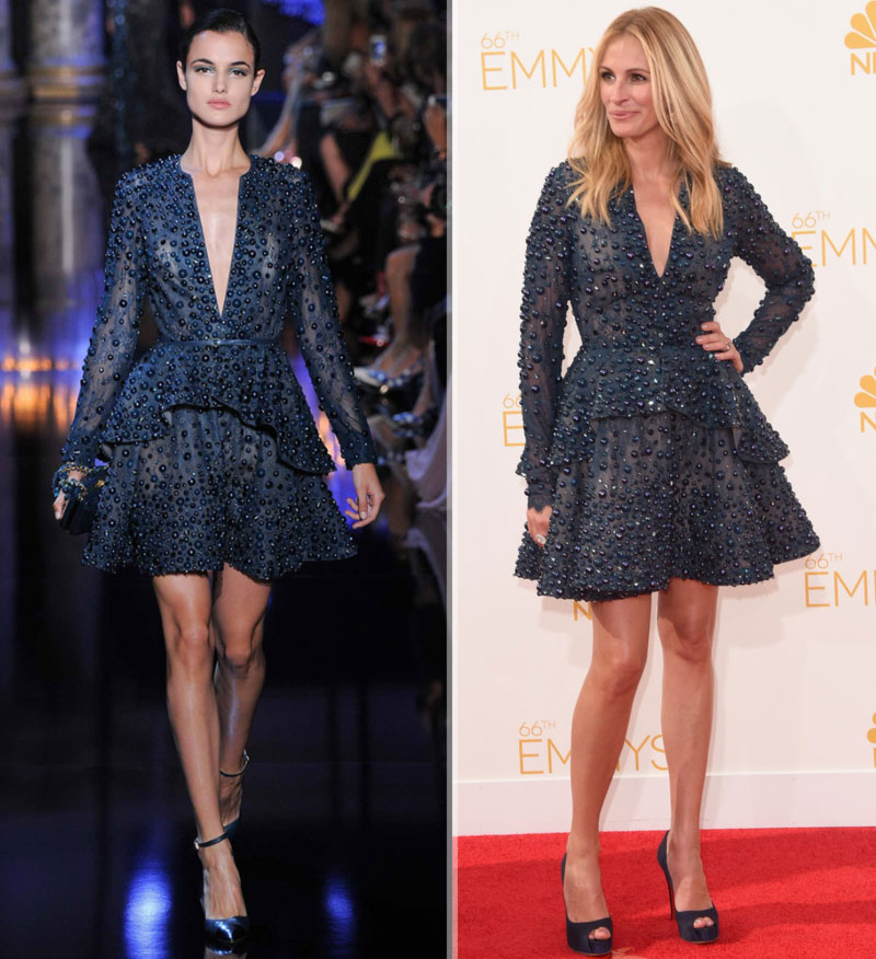 Julia Roberts 2014 Emmys Elie Saab dress