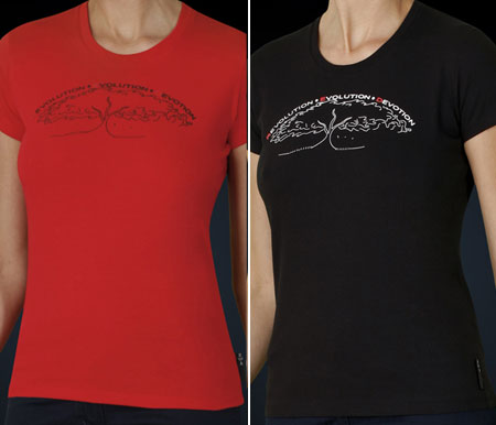 Julia Roberts Designed RED T-Shirts For Giorgio Armani