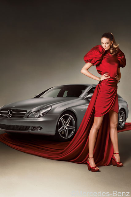 Julia Stegner Mercedes Benz