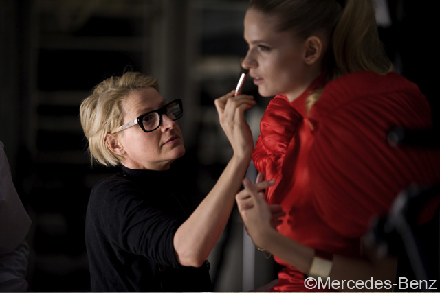 Julia Stegner Mercedes Benz making of 1