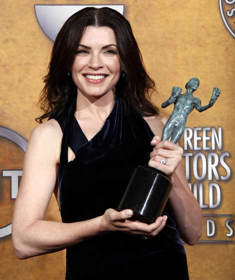 Julianna Margulies 2010 SAG awards