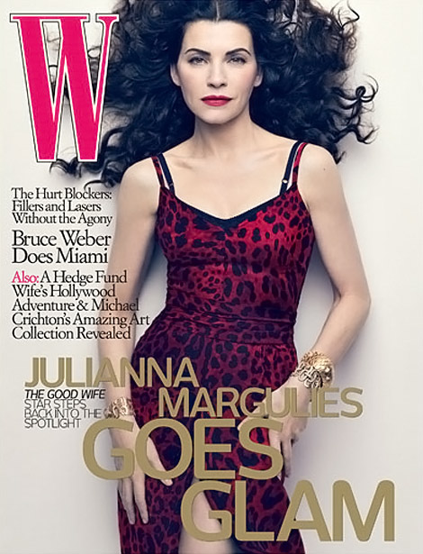 Julianna Margulies W May 2010 cover