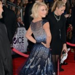 Julianne Hough dress People s Choice Awards 2013 red carpet