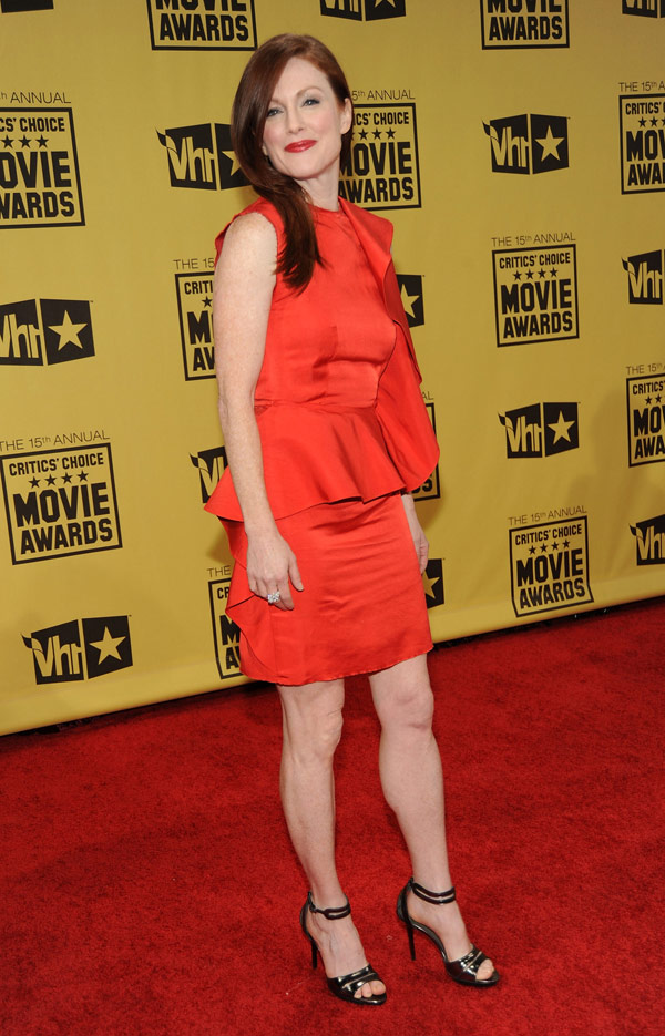 Julianne Moore Critics Choice Awards 2010 2