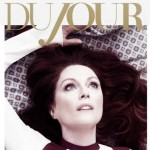 Julianne Moore DuJour cover