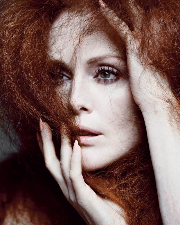 Julianne Moore redheaded beauty NYTimes T Magazine